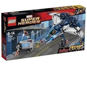 Lego 76032 - Super Heroes : Marvel Comics - La poursuite du Quinjet des Avengers