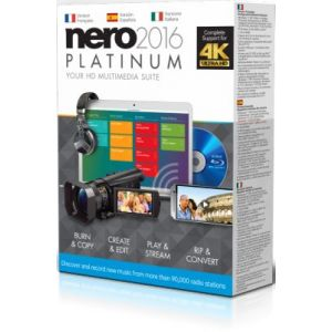 Nero 2016 platinum pour Windows