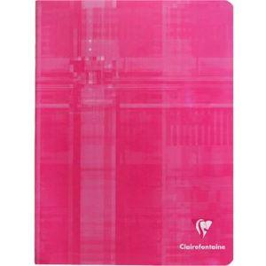 Clairefontaine Cahier piqure Q.5x5 144 pages 17 x 22 cm