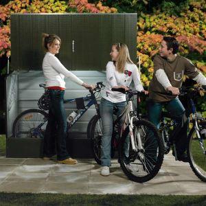 Trimetals Abri à vélos en métal 1,98 m2