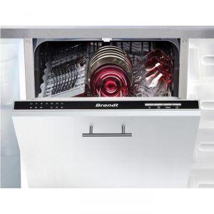 Brandt VS1010J - Lave-vaisselle intégrable 10 couverts