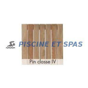 Procopi Caillebotis standard en bois 680 x 500 mm