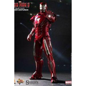 Iron Man 3 figurine Movie Masterpiece 1/6 Iron Man Mark XXXIII Silver Centurion 30 cm