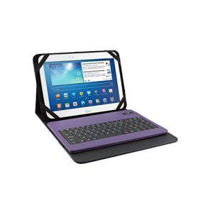"""WE WE0079 - Etui Folio avec clavier Bluetooth pour tablette 10"""""""