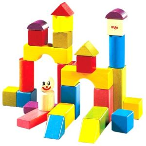 Haba Blocs de construction Clown (28 pièces)