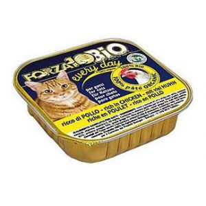 Forza10 Nourriture Humide pour Chats Every Day - Poulet 100g