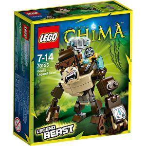 Lego 70125 - Legends of Chima : Le gorille légendaire