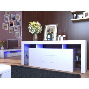 Buffet design à led High Gloss Panamera