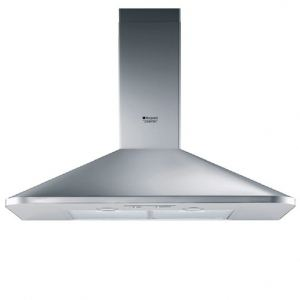 Hotpoint HES 92 F /HA - Hotte décorative 90cm