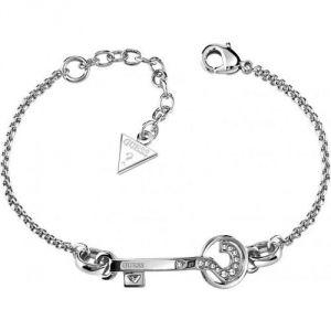 """Guess UBB21554 - Bracelet """"Clef"""" en métal argenté pour femme"""