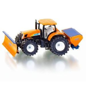 Siku 2940 - Tracteur New Holland avec lame niveleuse - Echelle 1/50