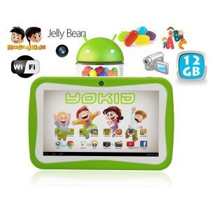"Yonis Yokid 12 Go - Tablette tactile enfant 7"" sous Android 4.1 (4 Go interne + Micro SD 8 Go)"