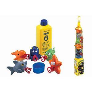 Pustefix Bulles de savon Mini Bubbelix : Animaux de la mer