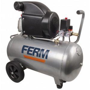 Ferm CRM1046 - Compresseur 2HP 1500W 50L