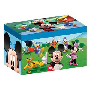 Delta Children Coffre à jouets Disney Mickey en tissu