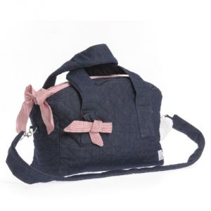 Therese Accessoires Jeans Karo - Sac à langer 40x29cm