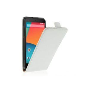Phonewear PNX5-ETU-TV-018-B - Étui à clapet en similicuir pour Lg Nexus 5