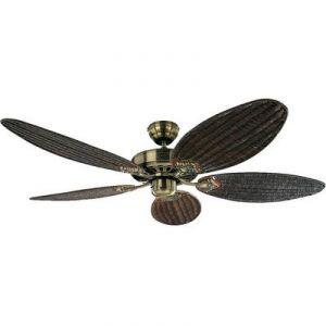 Casafan Royal Rattan MA - Ventilateur de plafond 5 pales