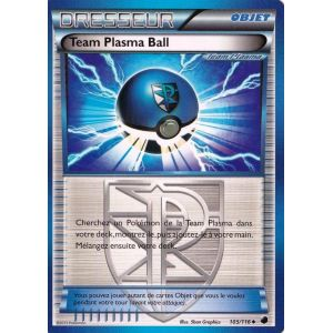 Asmodée Team Plasma Ball - Carte Pokémon Glaciation Plasma