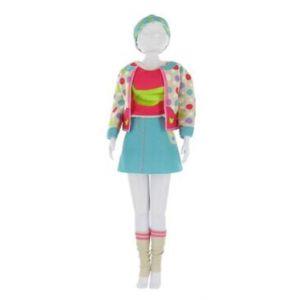 Roos Productions Fabrication habit Poupée Mannequin et Barbie - Candy Banana