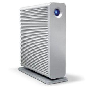 Lacie 9000481EK - Disque dur externe d2 Quadra V3 5 To USB 3.0 eSATA Firewire 800