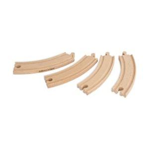 Eichhorn Rails courbes 4 pièces