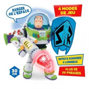 Mondo Motors Buzz l'Eclair Power Blaster 30 cm - Figurine Toy Story
