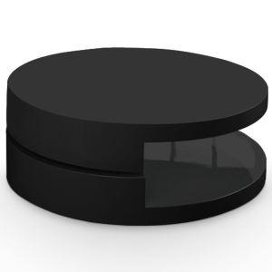 menzzo table basse firenza avec plateau tournant. Black Bedroom Furniture Sets. Home Design Ideas