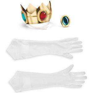 Set accessoires Princesse Peach (adulte)