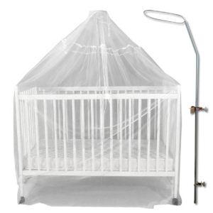 Bébé Achat Flèche de lit avec son voile moustiquaire