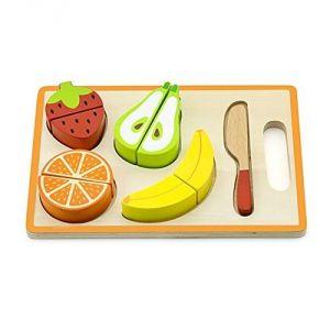 Viga Toys 1200 - Plateau de fruits à couper et encastrer