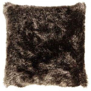 Housse de coussin imitation fourrure (40 x 40 cm)