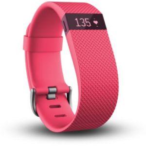 Fitbit Charge HR taille L - Bracelet d'activité et de sommeil