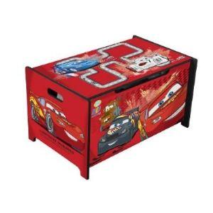 Delta Children Coffre à jouets en bois Cars