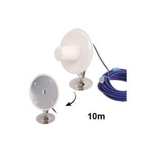Yonis Antenne amplificateur signal 3G universelle USB câble 10 m