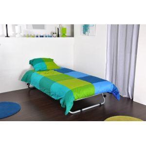 achat lextra lit d 39 appoint enfant escamotable 90 x 190 cm. Black Bedroom Furniture Sets. Home Design Ideas
