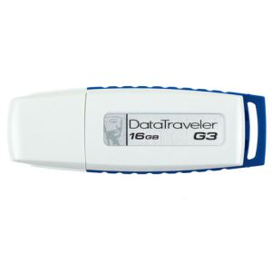 Kingston DTIG3/16GB - Clé USB 2.0 DataTraveler G3 16 Go