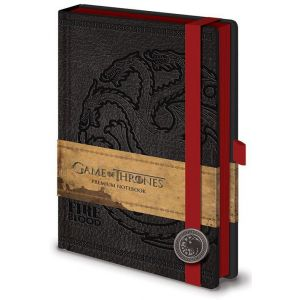 Pyramid International Carnet de notes Premium A5 logo Targaryen Game Of Thrones