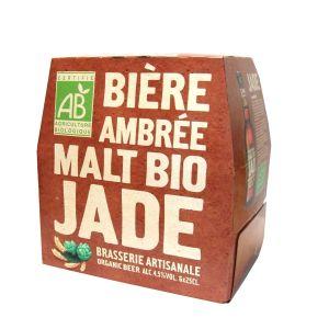 JADE Bière ambrée bio 6x25cl