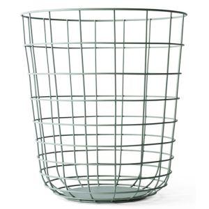 Menu Corbeille / panier à papier Wire en métal (32 x 35 cm)