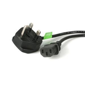 StarTech.com PXT101UK3M - Câble d'alimentation pour PC 3 m.