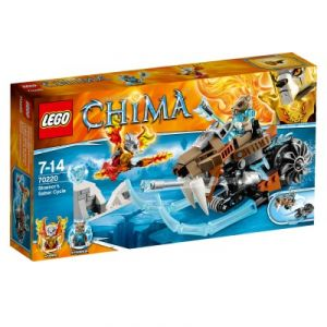 Lego 70220 - Legends of Chima : La moto sabre