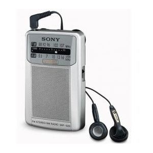 Sony SRF-S26S - Radio portable