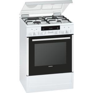 Siemens HX85D220F - Cuisinière mixte 4 brûleurs gaz avec four électrique