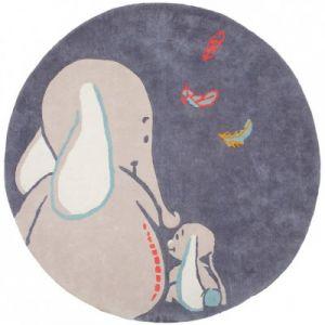 Noukies Tapis rond Bao & Wapi Ø150 cm