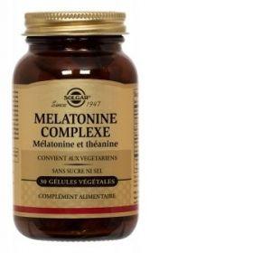 Solgar Complément alimentaire Mélatonine Complexe - 30 gélules