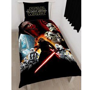 Character World Star Wars : Le Réveil de la Force - Housse de couette et taie (140 x 200 cm)