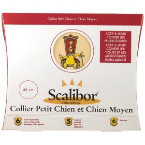 Scalibor Collier antiparasitaire pour petit et moyen chien (48 cm)