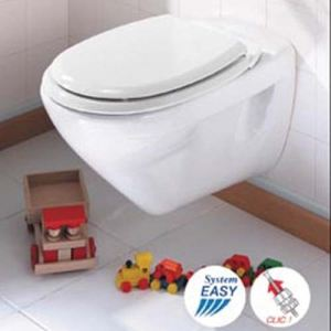 Allibert Abattant WC Mistral en bois