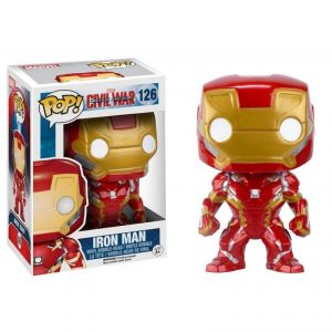 Funko Figurine Pop! Marvel Civil War : Iron Man 126